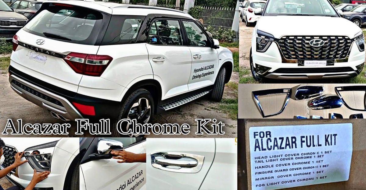Hyundai Alcazar: Genuine accessories detailed on video