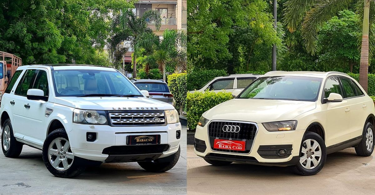 Well maintained, used Audi &  Land Rover luxury SUVs selling for under Rs 10 lakh