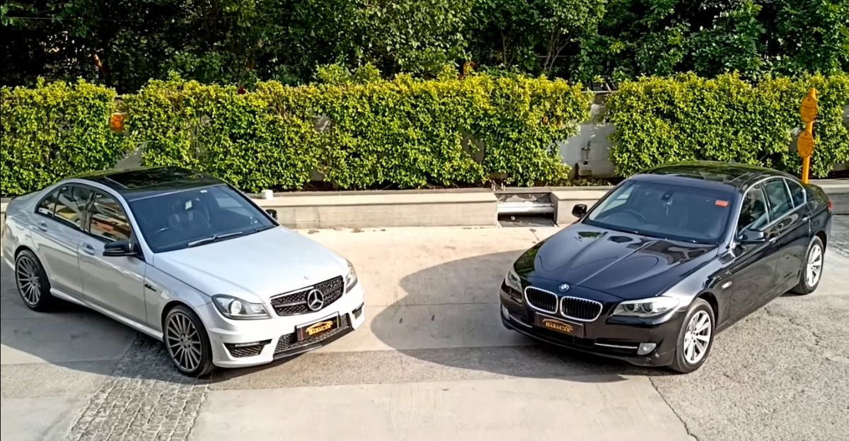 Well maintained Mercedes-Benz & BMW sedans available from just Rs. 10.95 lakh