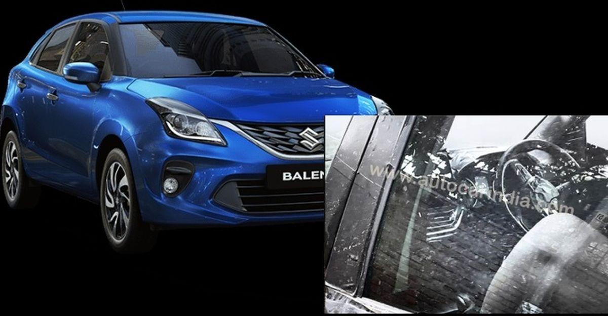 Maruti Suzuki Baleno facelift: New interior spotted in test mule