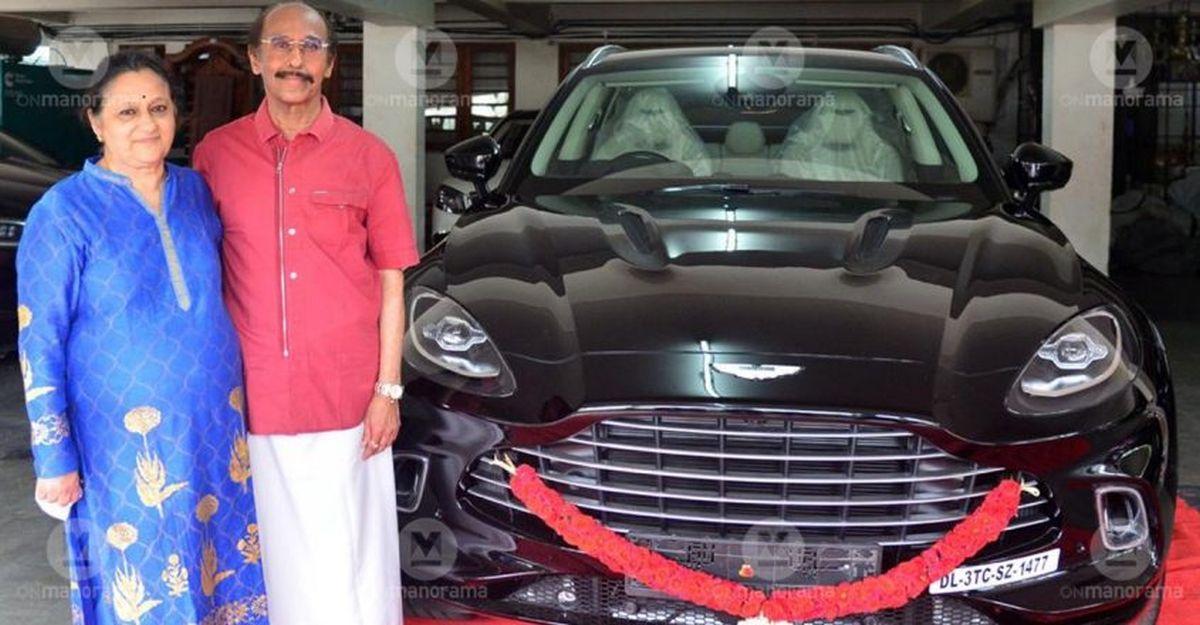 Bhima Jewellers chairman buys Kerala's first Aston Martin DBX SUV worth Rs. 5 crore