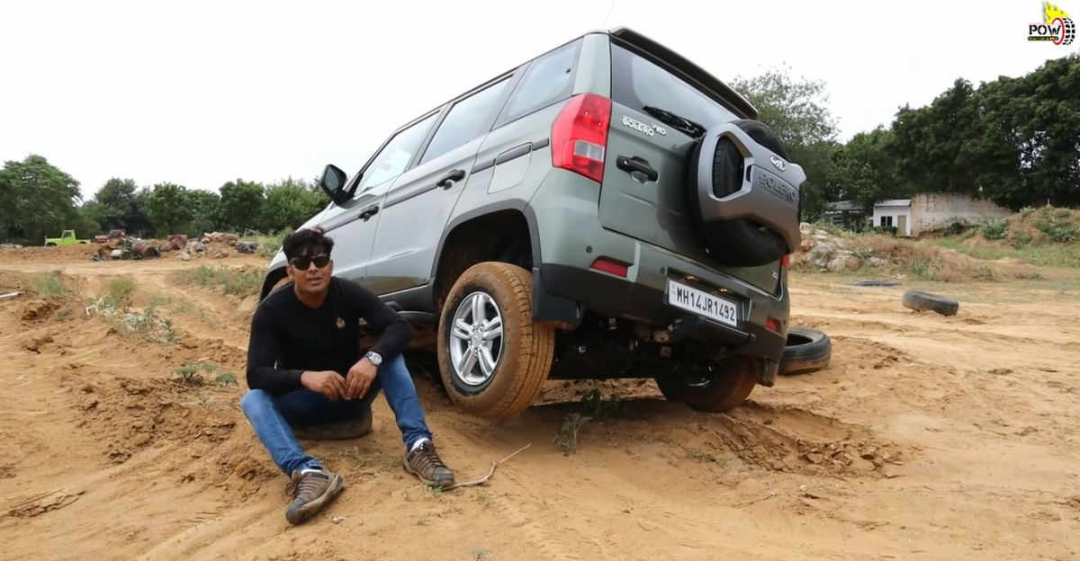 Watch the new Mahindra Bolero NEO's Mechanical Locking Differential in action