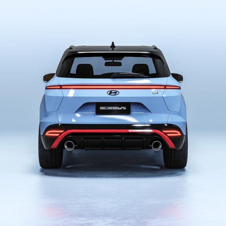 Hyundai Creta N-Line high-performance compact SUV: what it will look like