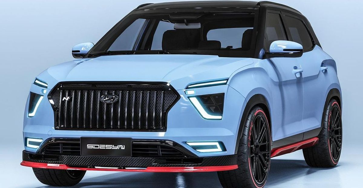 High-performance Hyundai Creta N-Line compact SUV: What it'll look like