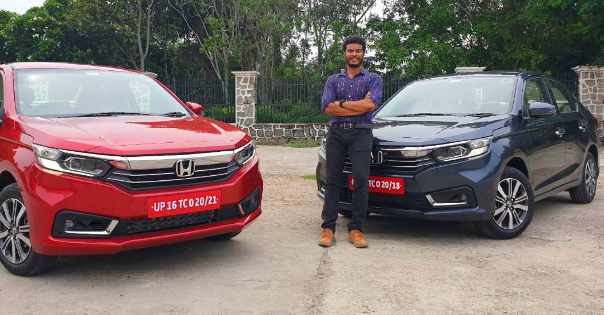 Honda Amaze Facelift petrol automatic & manual in CarToq's First Drive Video Review