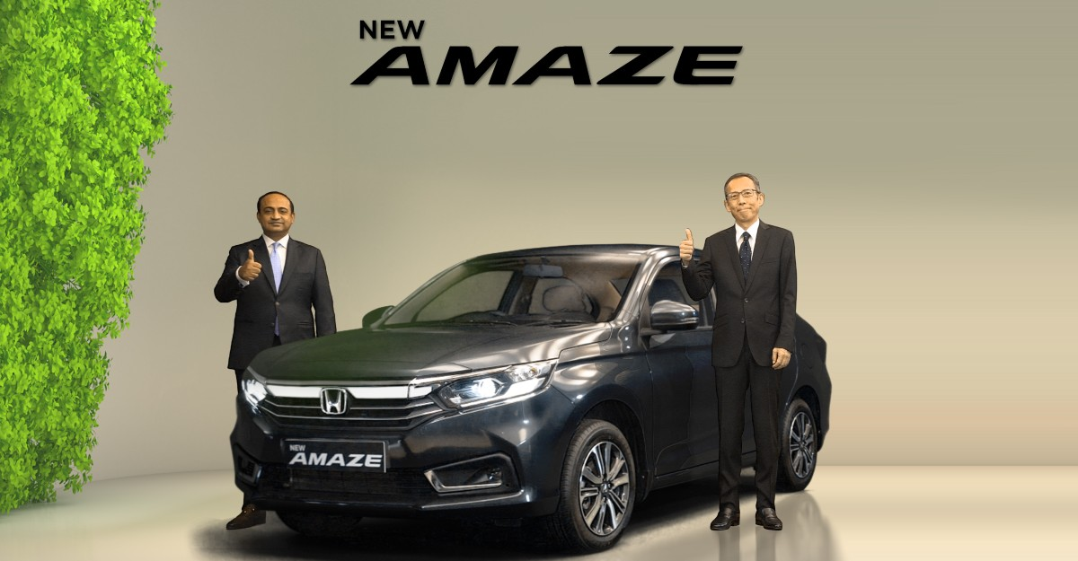 Honda Amaze facelift launched at Rs 6.32 lakh