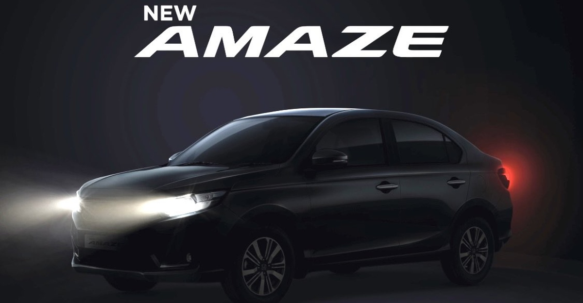 Honda Amaze Facelift top-end variant spied ahead of launch