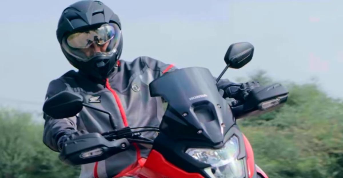 Honda releases teaser of Hornet 2.0 based adventure motorcycle: Will rival Hero XPulse
