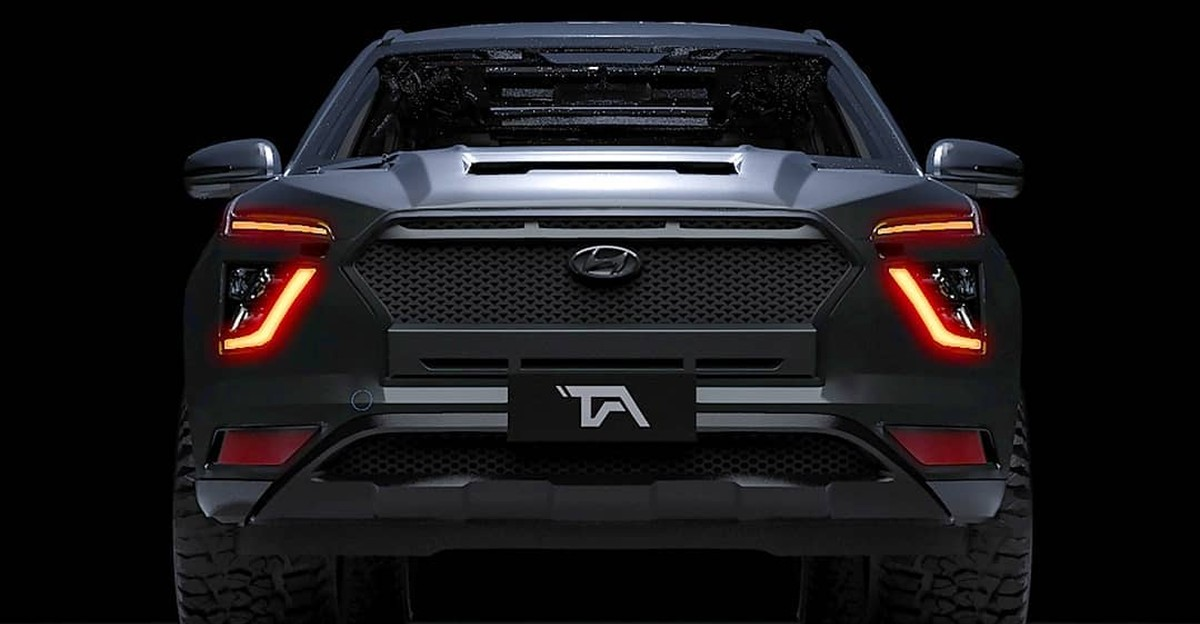 All-new 2020 Hyundai Creta compact SUV's Dark Edition imagined