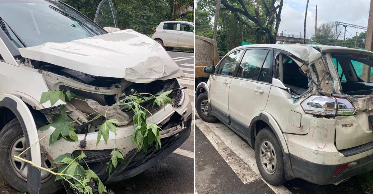 Ghazal singer Imthiyas Beegum thanks Tata Motors for Hexa's build quality after a big crash