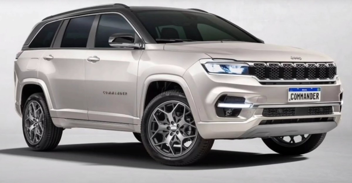 India-bound 7 seat Jeep Commander based on the Compass revealed