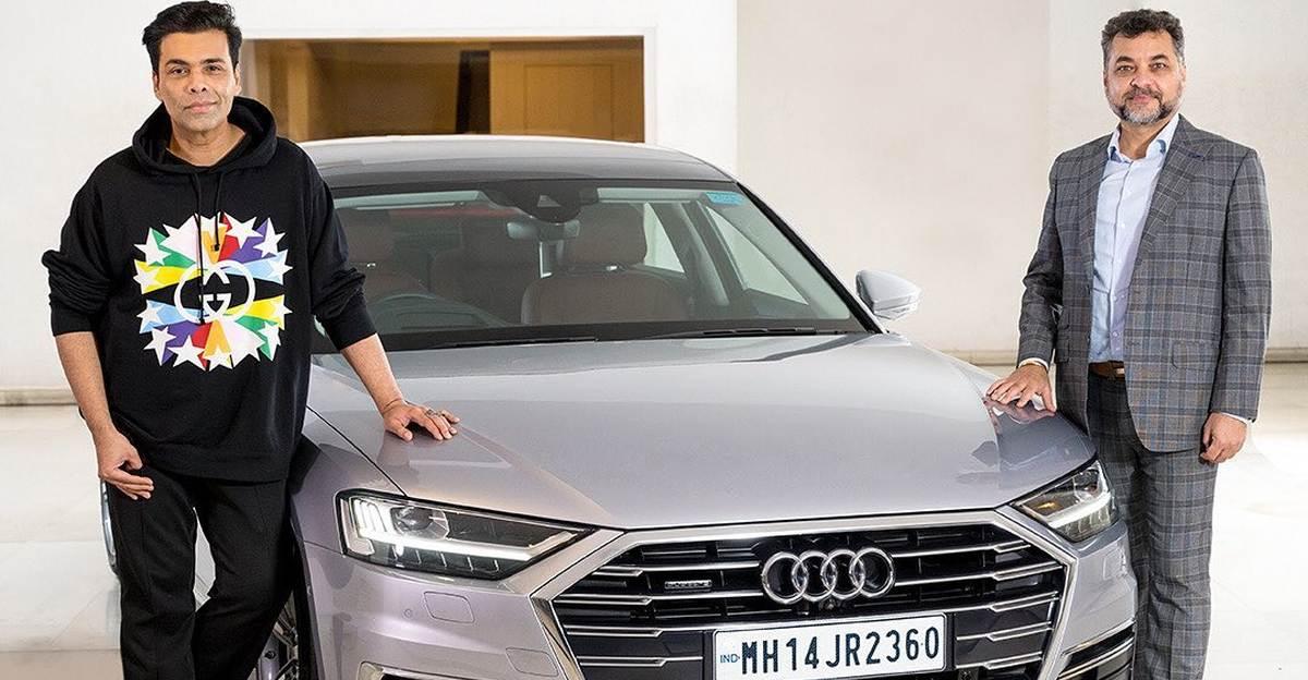 Bollywood director Karan Johar buys an Audi A8L luxury sedan