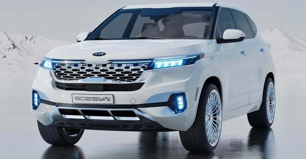 Kia Seltos Diamond Edition inspired by Maybach: What it could look like