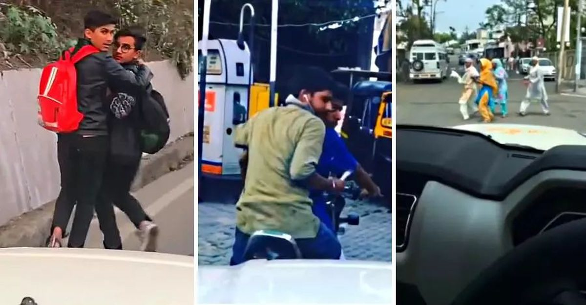 Mahindra Scorpio with train horn shows why exactly pressure horns are BANNED
