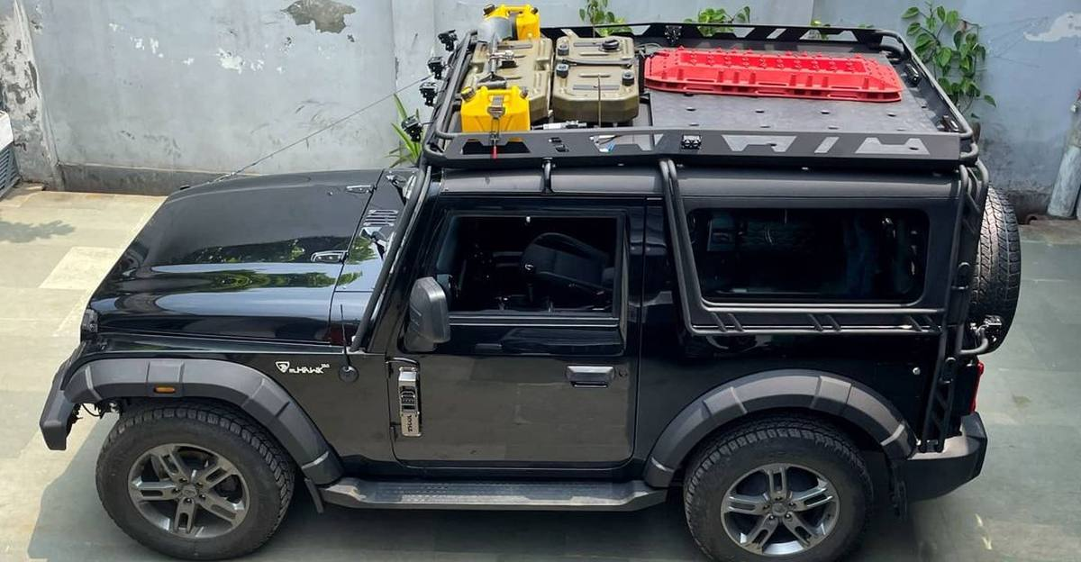 Modified Mahindra Thar is ready for overlanding expeditions