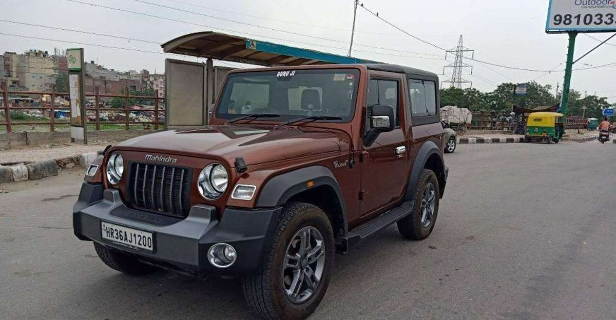 Almost-new 2021 Mahindra Thar 4X4s for sale: Skip the waiting period