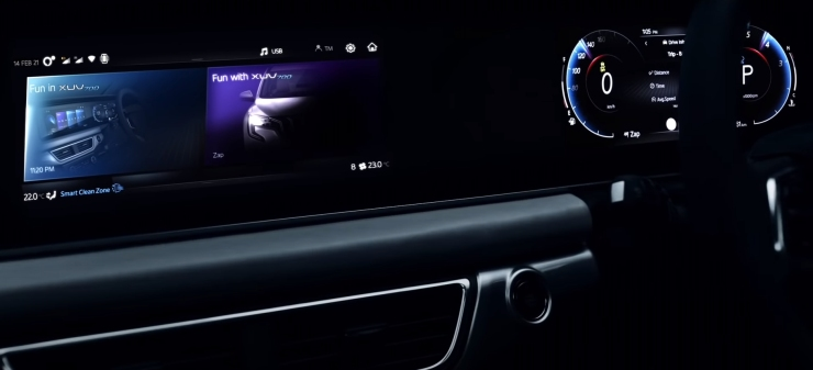 Mahindra teases intelligent features of XUV700 7 seat SUV [Video]