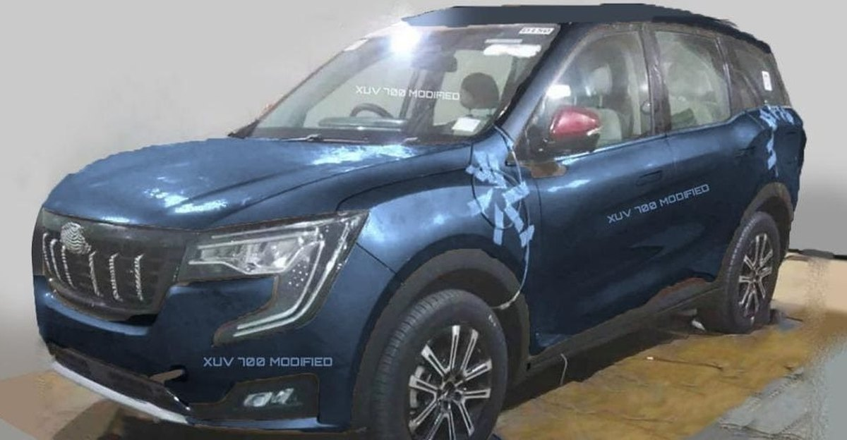 Mahindra XUV 700 imagined in different colour options