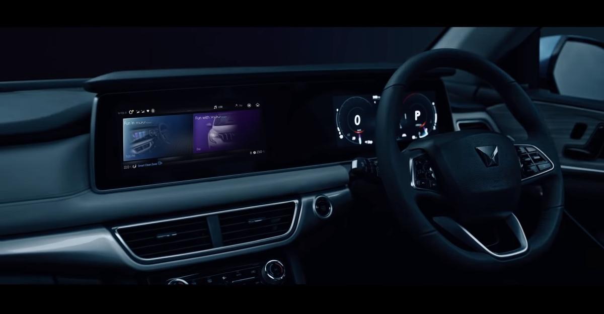 Mahindra XUV 700 interiors revealed ahead of launch[Video]