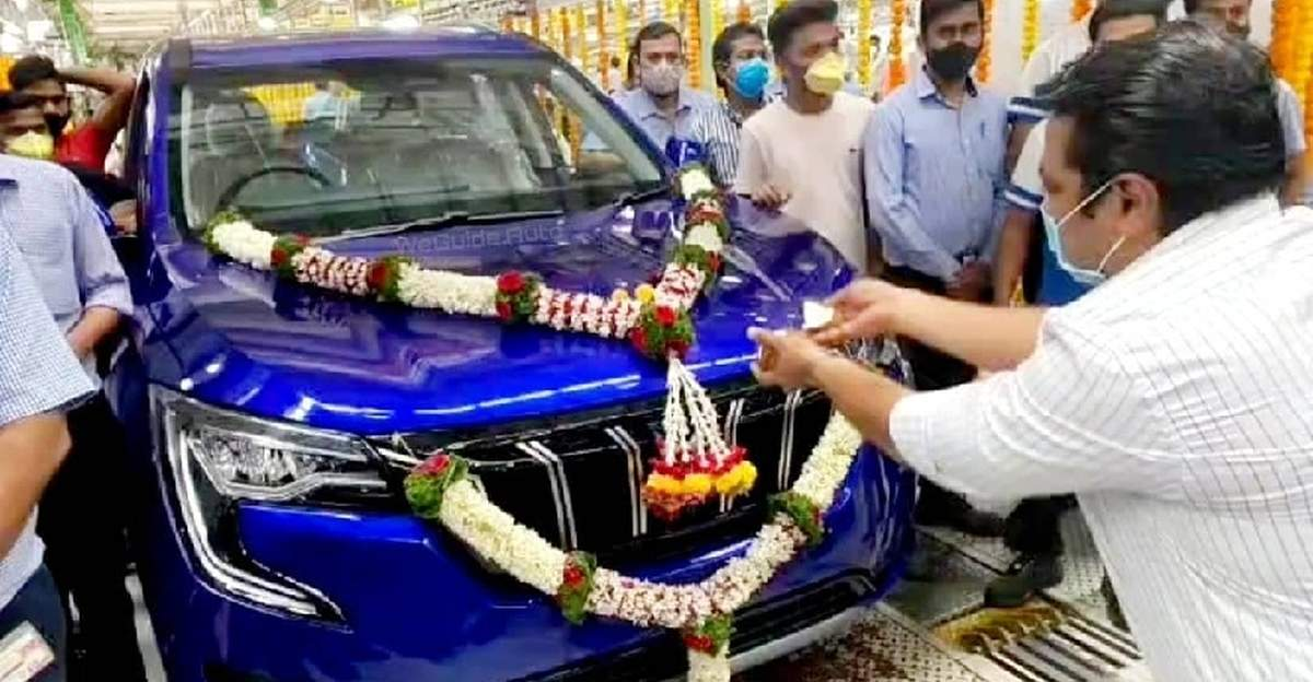 Mahindra XUV700 production commences at Chakan factory off Pune ahead of launch