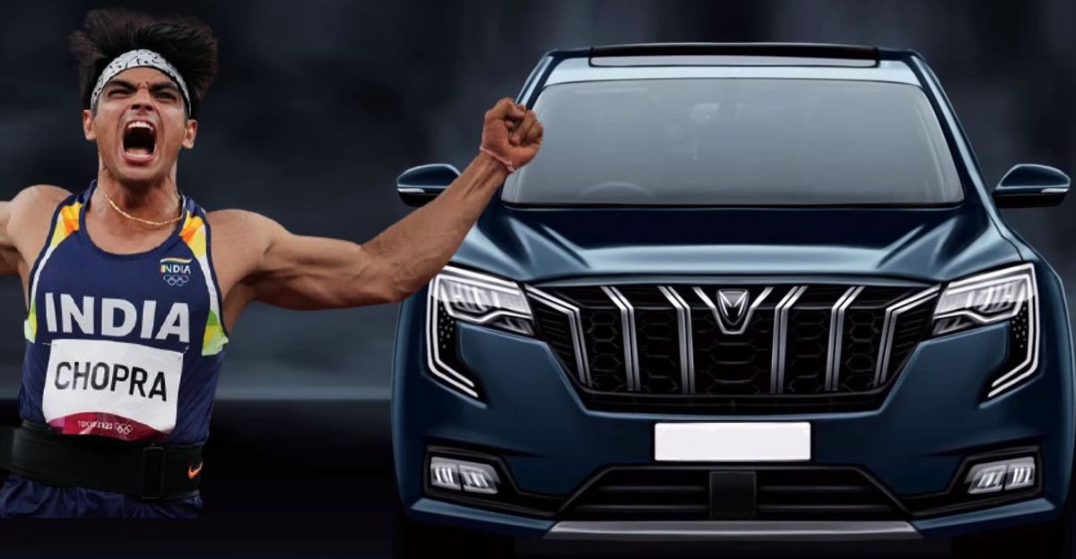 Anand Mahindra: Will gift XUV700 7 seat SUV to Olympic Gold Medallist NeerajChopra