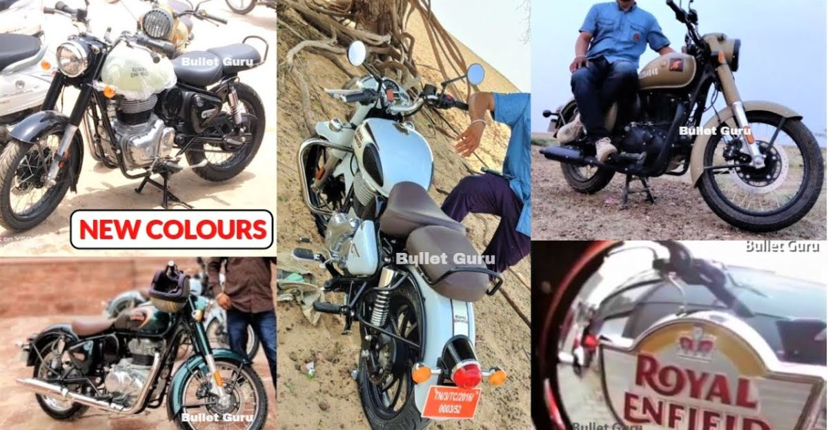 Next-gen Royal Enfield Classic 350: Spotted in new colours ahead of launch