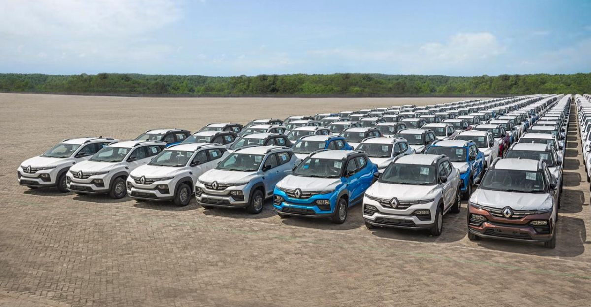 Renault Kiger compact SUV exports commence from India