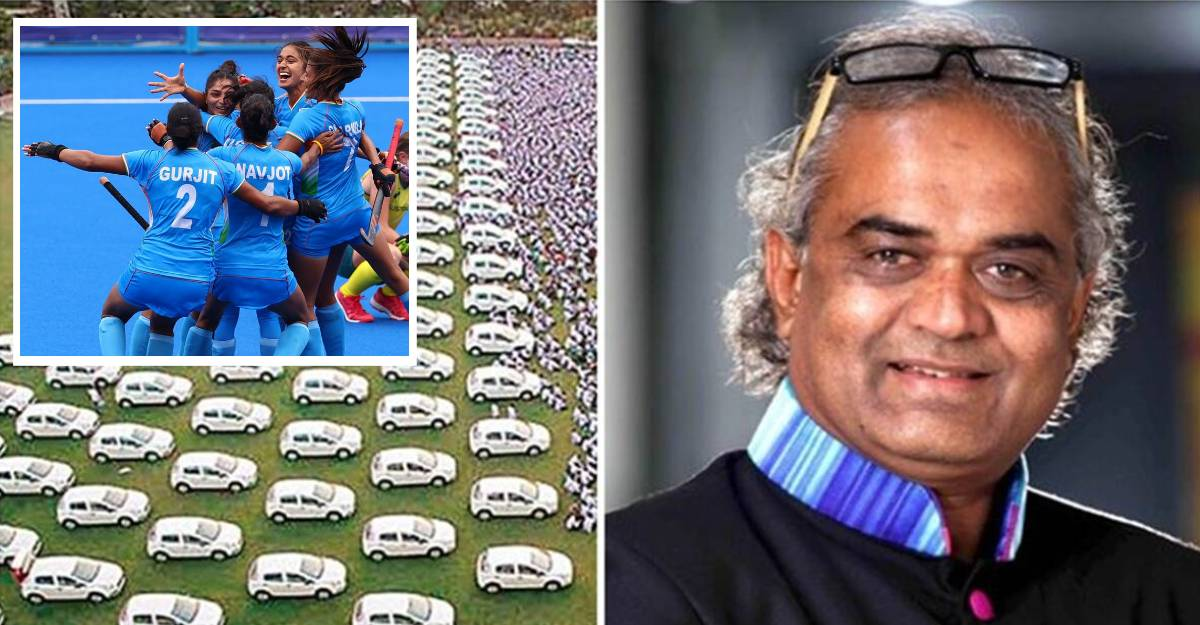 Surat diamond merchant promises car & house for women hockey team players if they win a Olympics medal