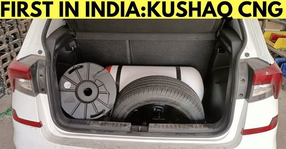India's first Skoda Kushaq to get an aftermarket CNG kit