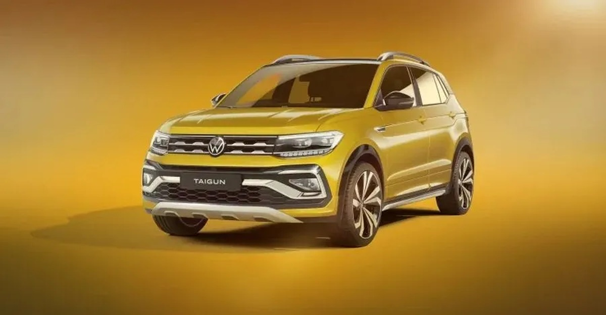 Volkswagen Taigun compact SUV lower variant spotted[Video]