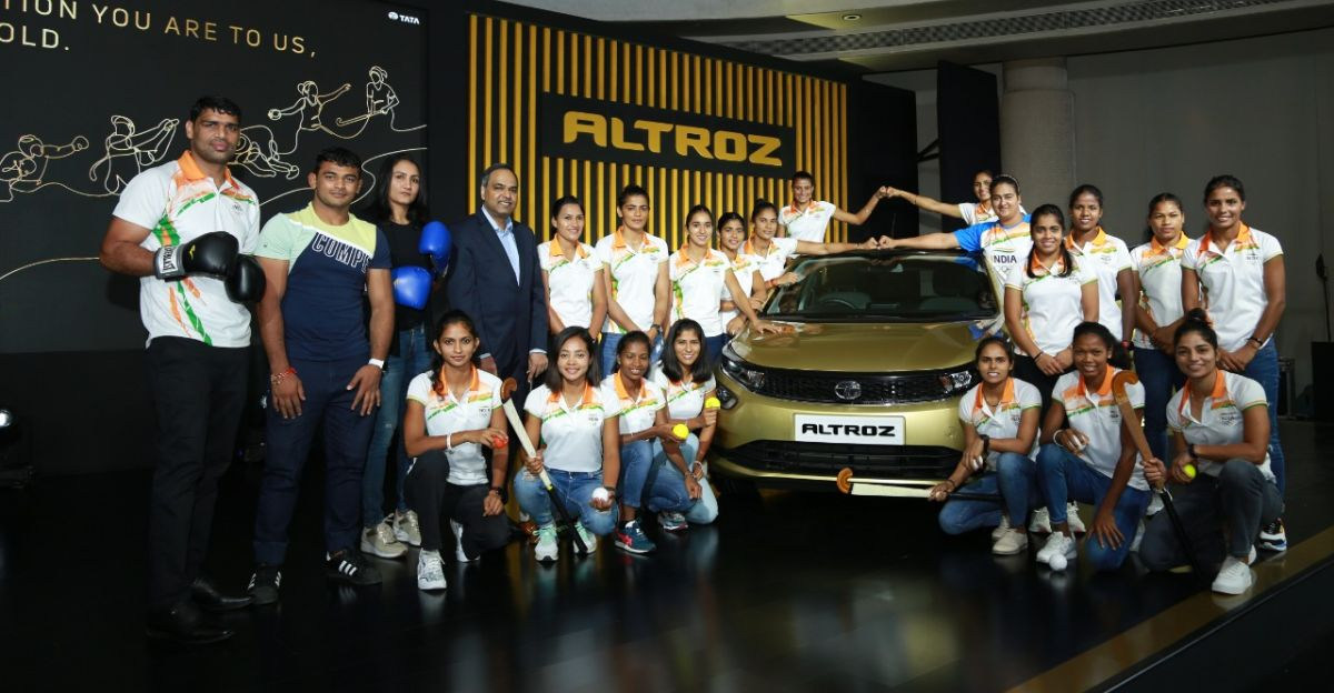 Tata Motors gifts Altroz hatchbacks to Olympians who narrowly missed podium at Tokyo
