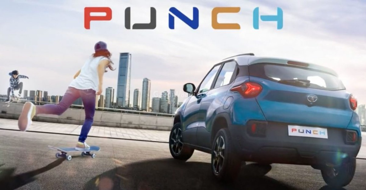 Upcoming Tata Punch micro SUV: Rear-end styling revealed