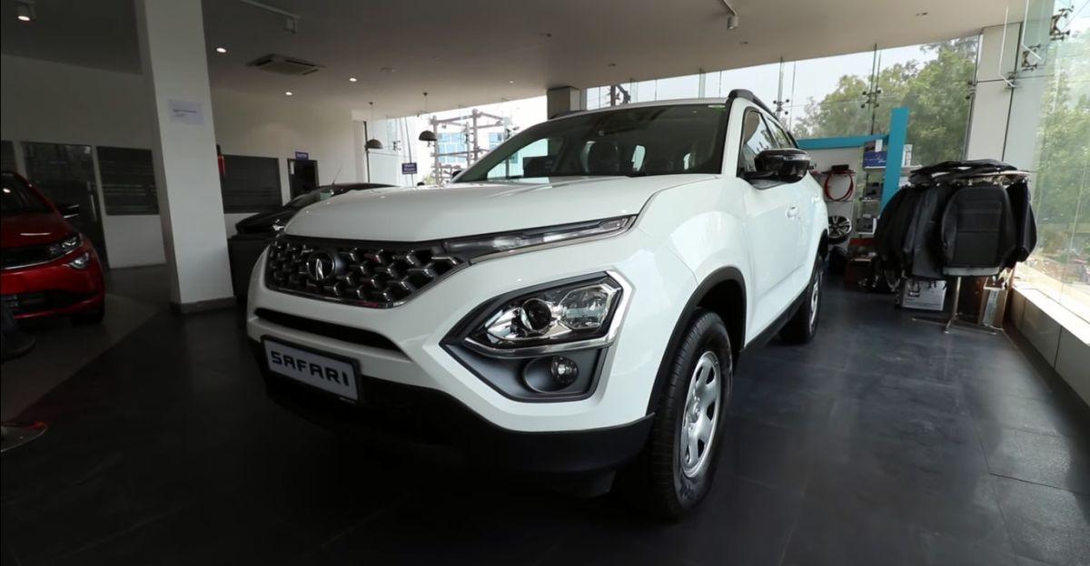 Tata Safari XT Plus gets customised interiors to look like top-end trim