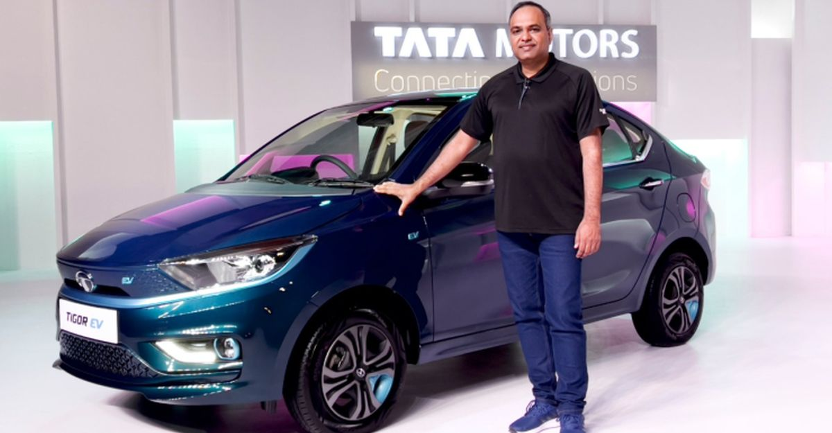 Tata Tigor Electric sedan with 306 Km range launched: Prices start from Rs 11.99 lakh
