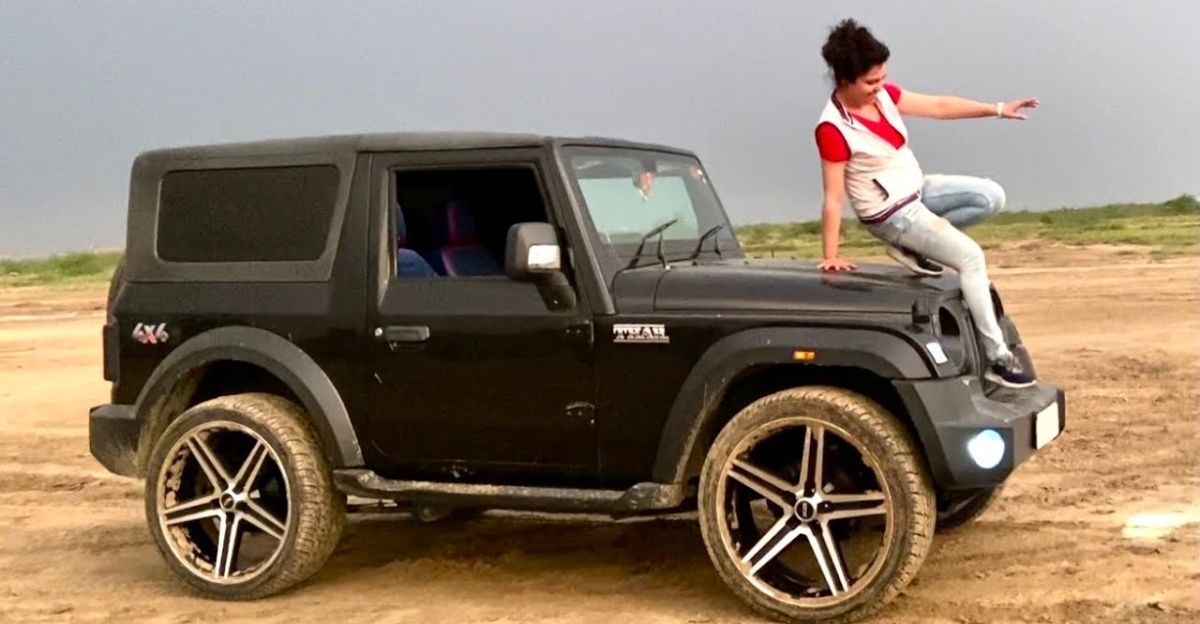 24 inch alloy wheels on a Mahindra Thar: What are the issues you'll face