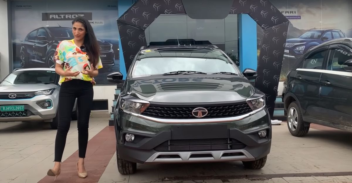 Just-launched 2021 Tata Tiago NRG in a walkaround video
