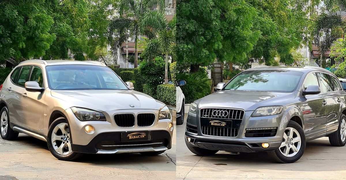 Used Audi Q7 and BMW X1 selling for less than Rs. 10 lakh