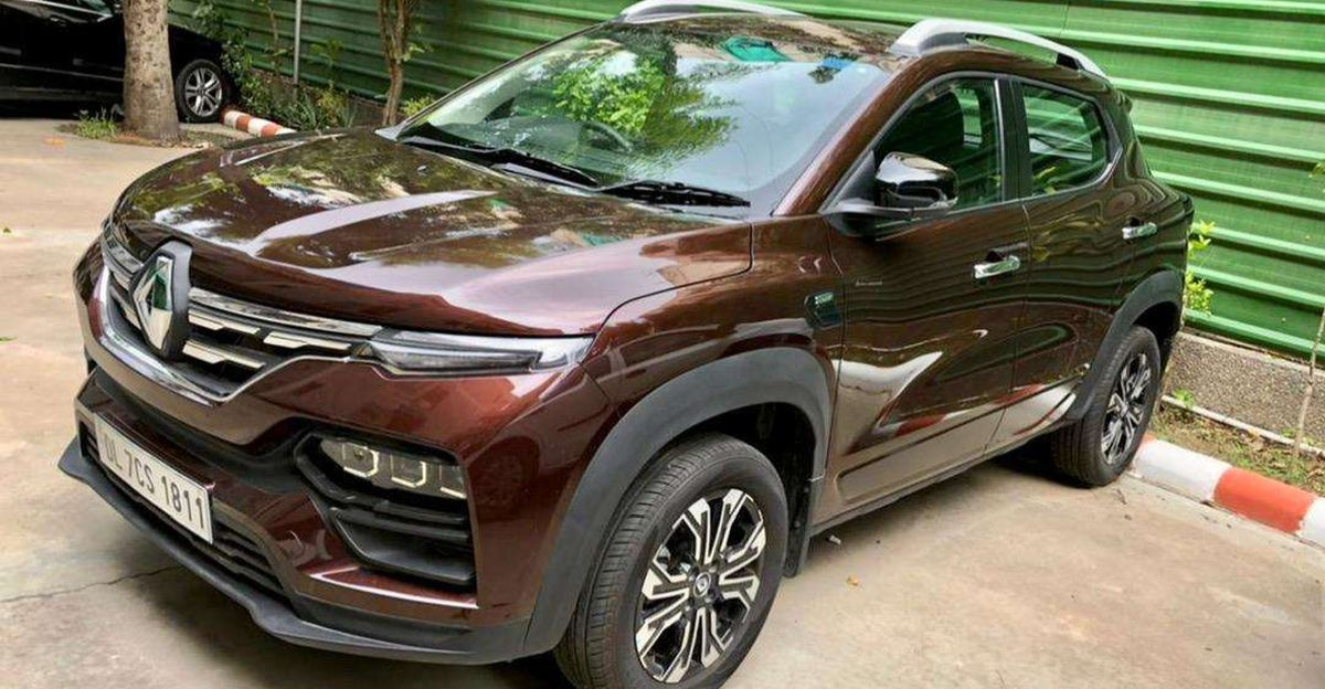 Almost-new Renault Kiger compact SUVs for sale
