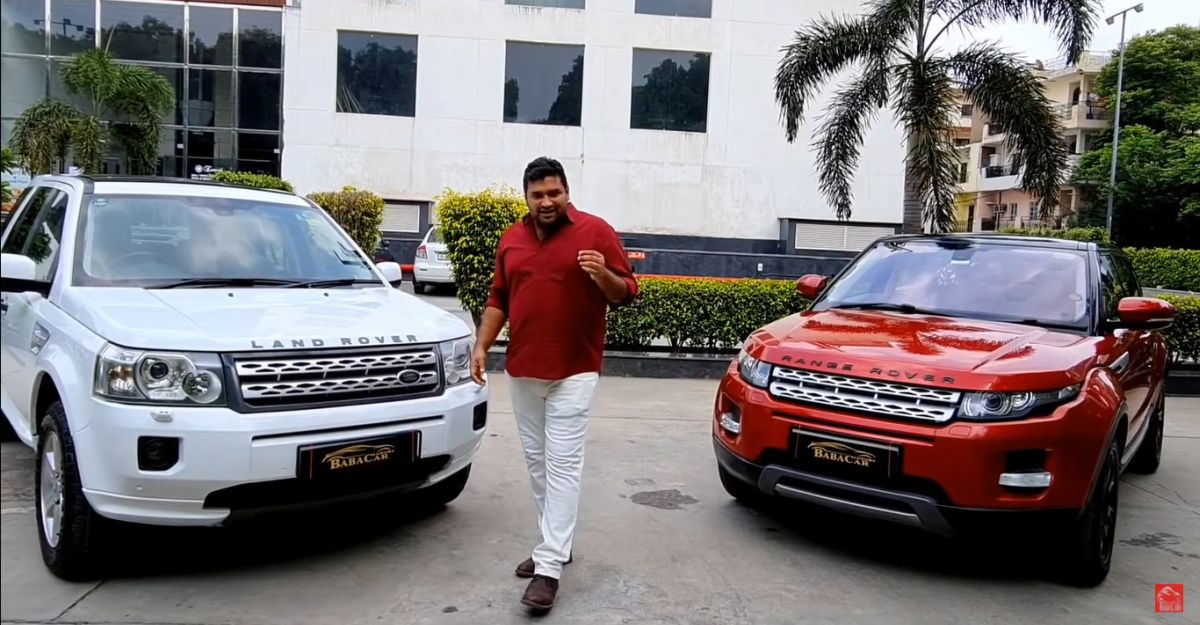 Well maintained, used Land Rover luxury SUVs selling at the price of a mid size SUV