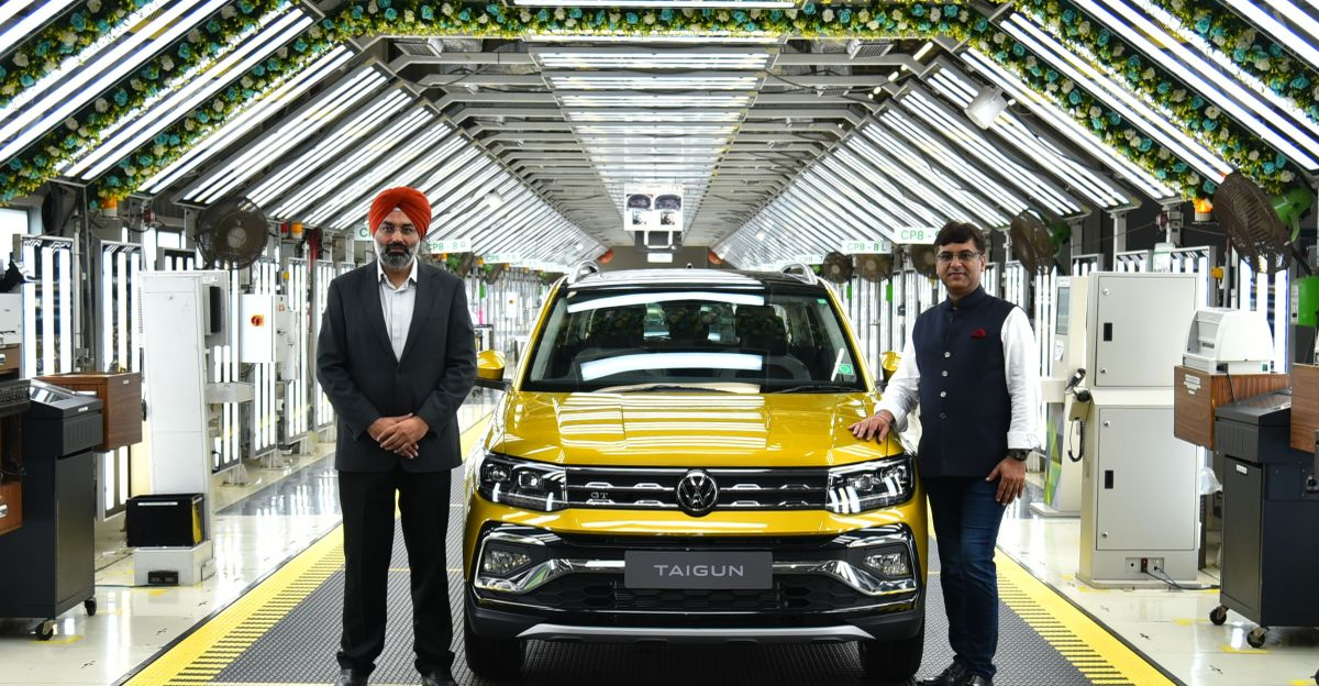 Volkswagen Taigun compact SUV: Production commences and pre-bookings now open