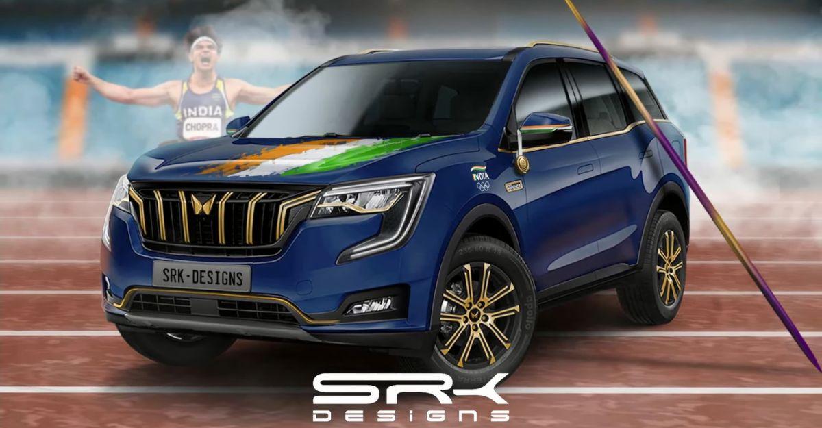 Custom made Mahindra XUV700 for Olympian Neeraj Chopra: What it could look like