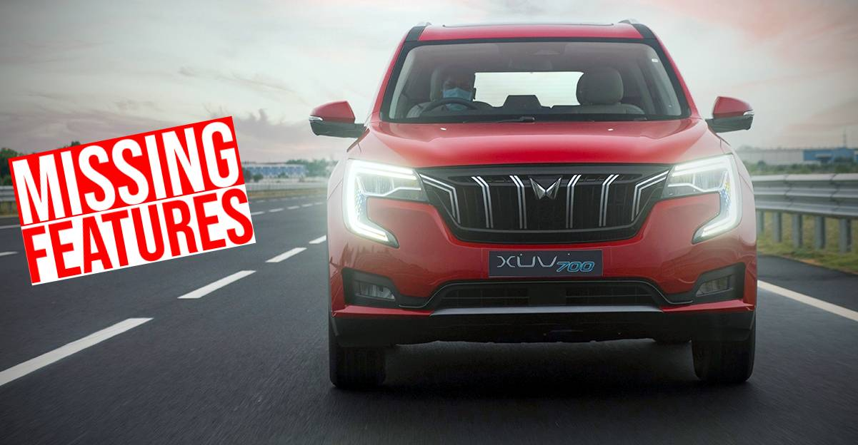 5 features missing in the new Mahindra XUV700 SUV