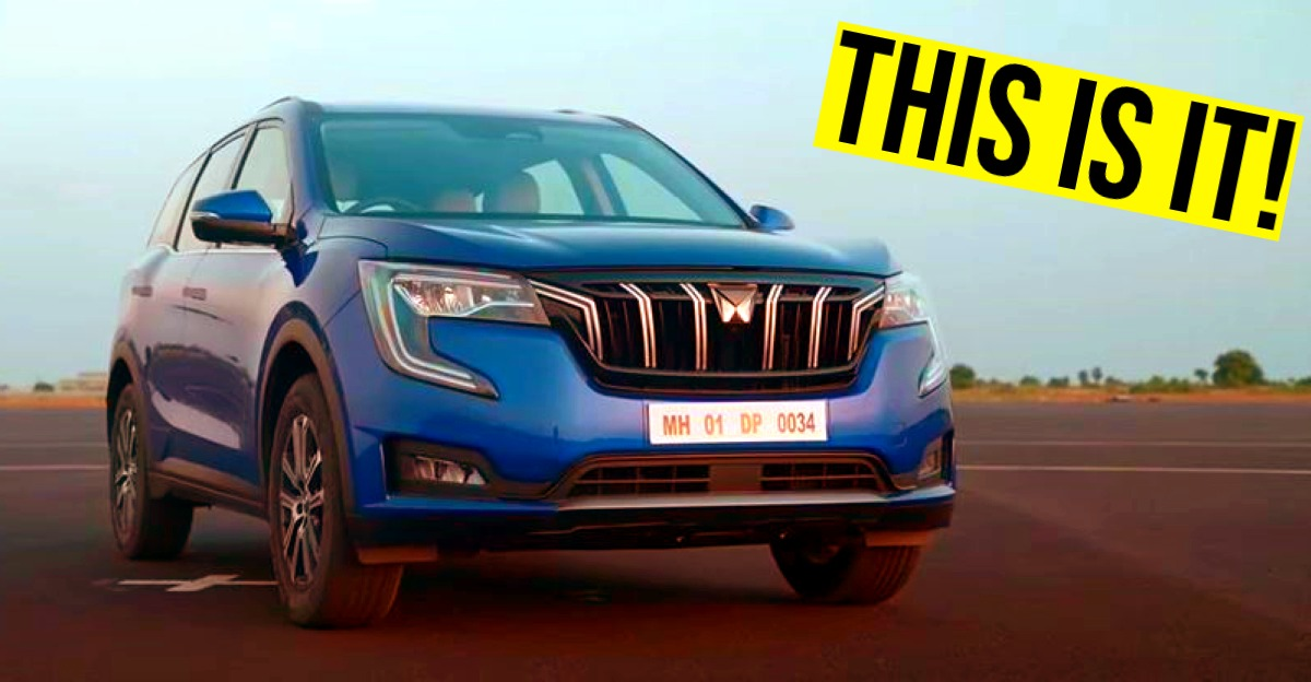 Mahindra XUV700 7 seat SUV revealed officially: Launch soon