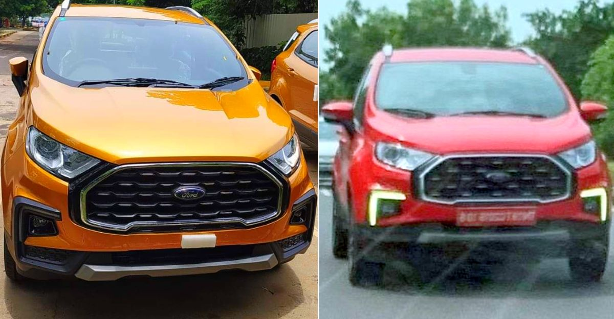 Ford Ecosport Facelift leaked ahead of launch  [Video]