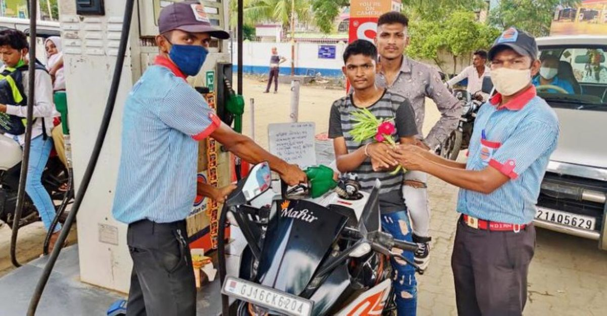 Get free fuel if your name is Neeraj: Fuel pump owner announces offer to honour Olympic winner