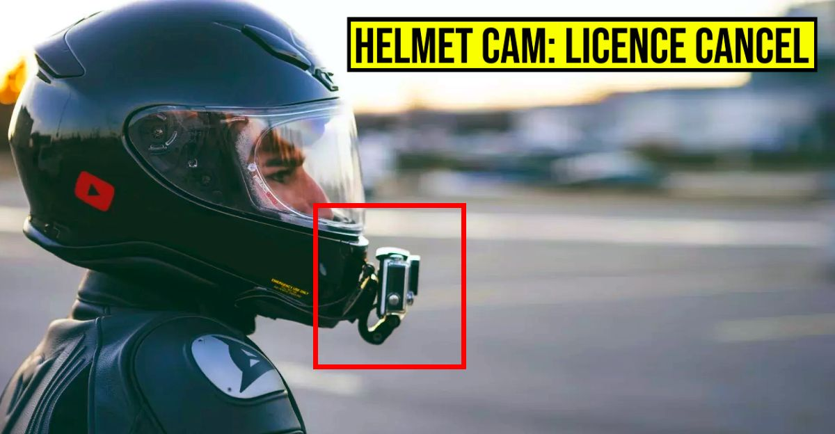Helmet mounted cameras ILLEGAL, driving licence of offenders to be cancelled: Kerala RTO