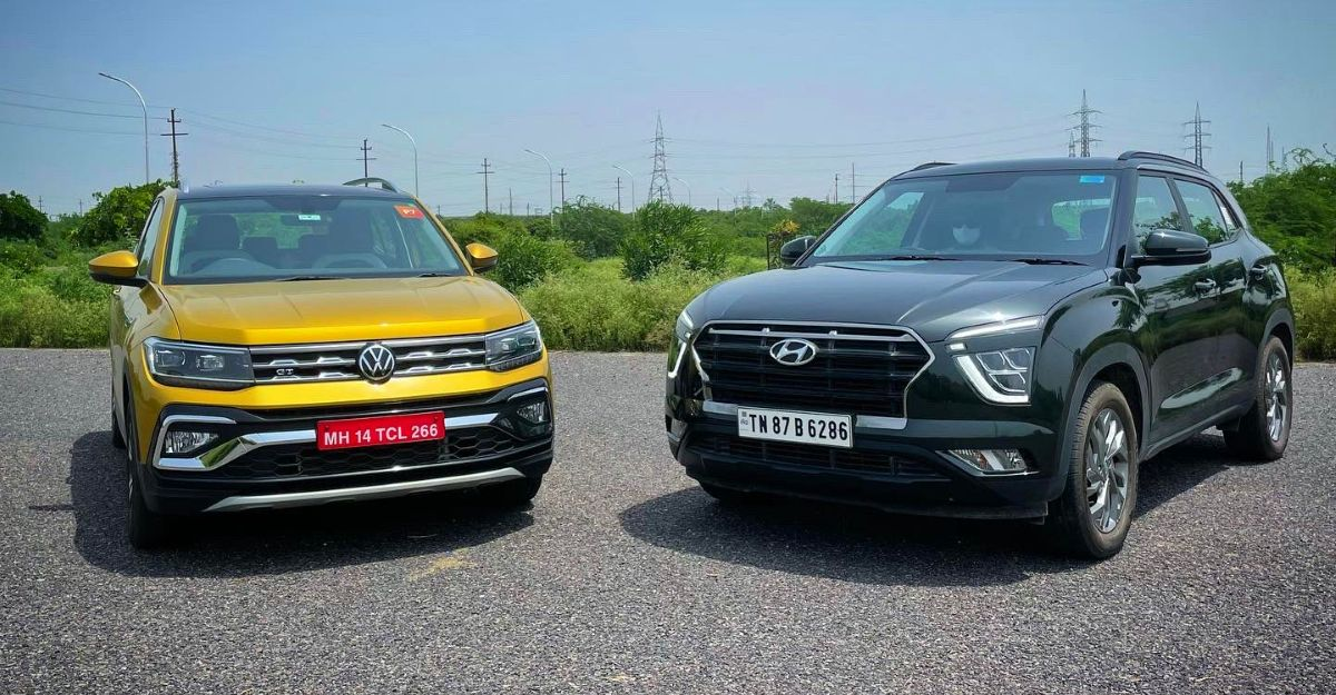 Volkswagen Taigun vs Hyundai Creta: Road presence compared