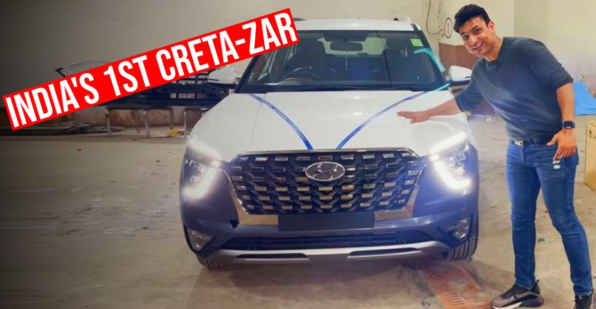 This Hyundai Creta wants to be a Alcazar