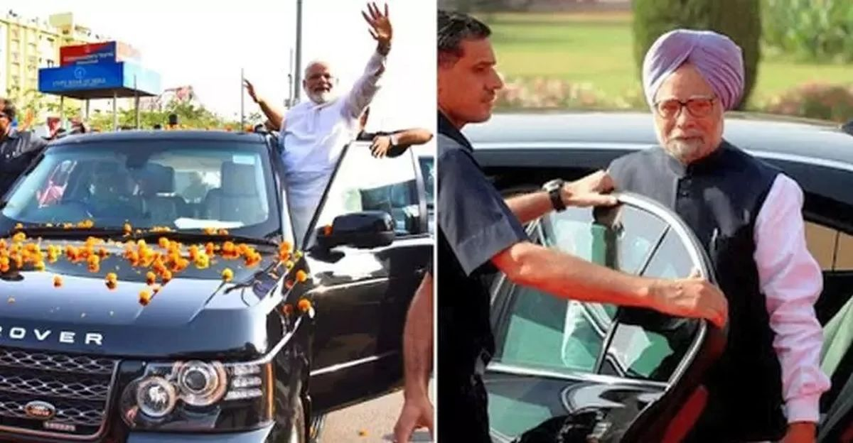 India's Presidents & Prime Ministers & their cars: Narendra Modi's Range Rover to Manmohan Singh's BMW 7-Series