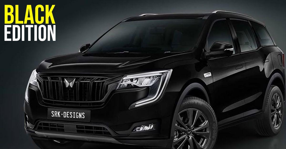 Mahindra XUV700 Black Edition: What it'll look like